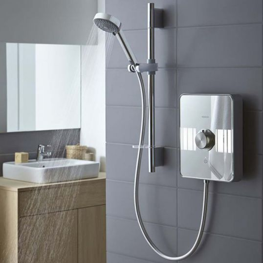 showers electric mixer and power showers soakology. Black Bedroom Furniture Sets. Home Design Ideas