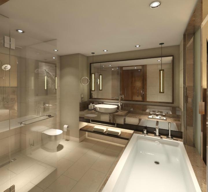 48 Creative Ideas For Making Your Bathroom Feel More Spacious Soakology Cool Bathroom Design Layouts Creative