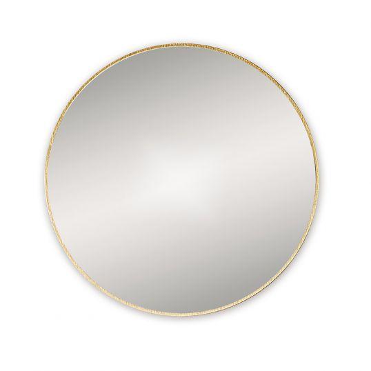 Bathroom Origins Docklands Round Mirror, Brass Bathroom Mirrors