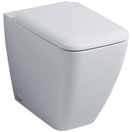 Icon Square Rimless Back To Wall WC with Soft Closing Seat