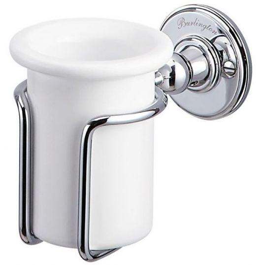 110mm × 80mm × 180mm Bathroom Origins Oriental Crystal Tumbler Holder
