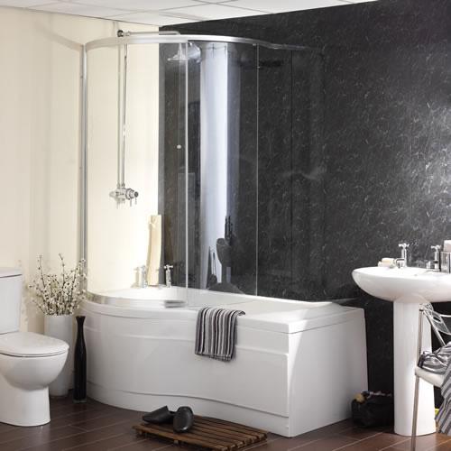 Carron Sliding Shower Screen For Sigma Shower Bath