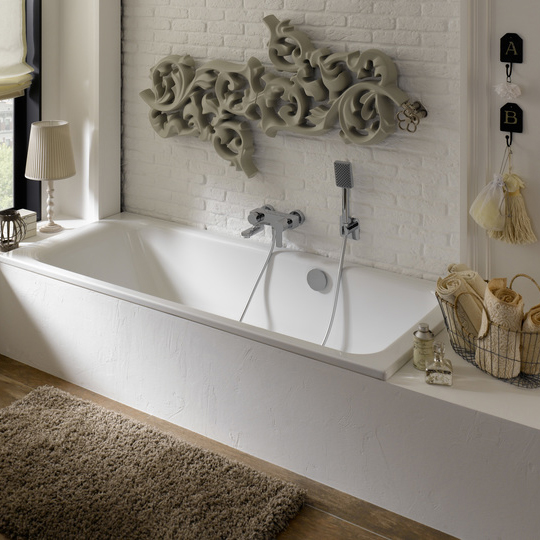 Bette Select Bath With Side Overflow Soakology