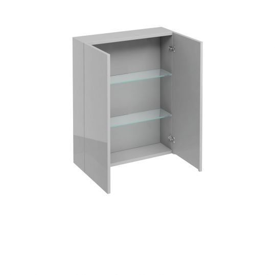 Aqua Double Door Wall Cabinet 600mm