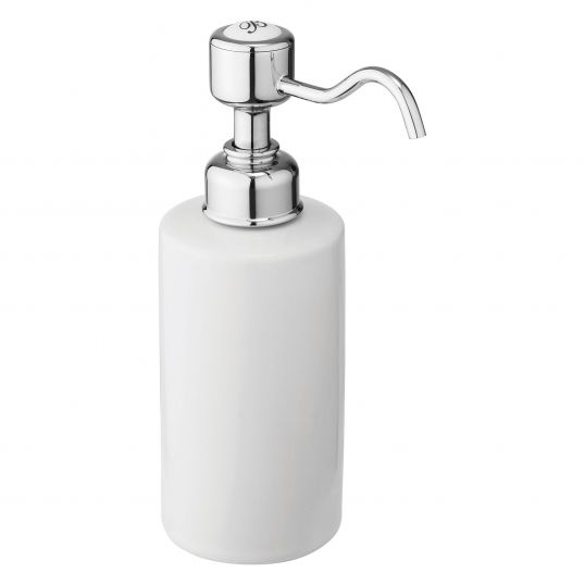 Basin Surface Mounted Soap Dispenser - Chrome Plated Brass