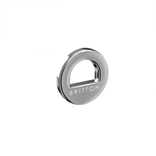 Cloakroom Basin Chrome Plated Brass Overflow Ring
