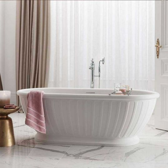 Albany Freestanding Bath with Overflow
