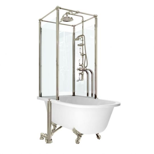 Royal single ended bath with upstand