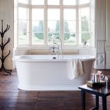 London Round Soaking Tub