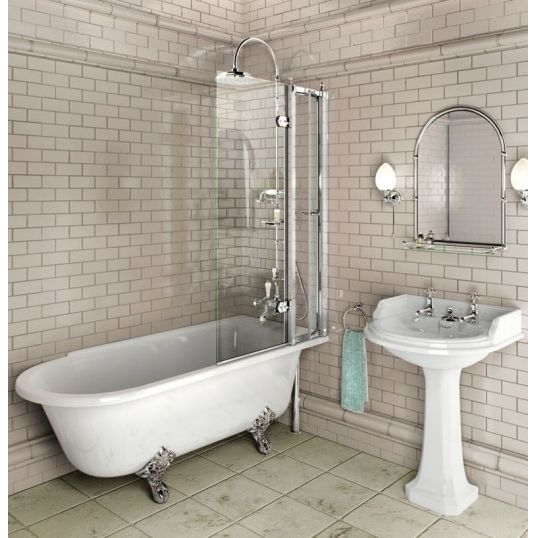 Bath Screen with access panel