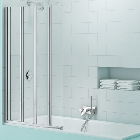 SecureSeal 4 Fold Bathscreen