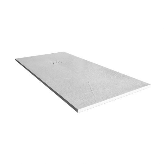 Truestone Rectangular Tray  1400x800mm White