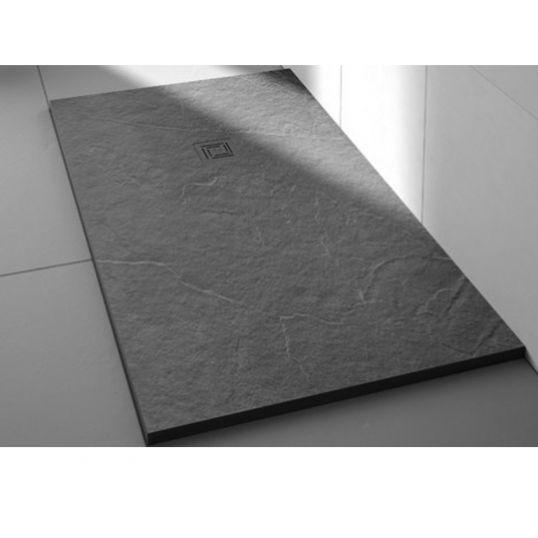 Merlyn Truestone Rectangular Tray 1500x800mm Fossil Grey