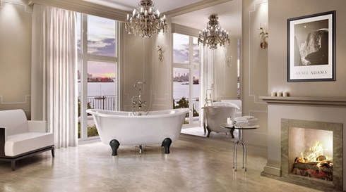 Bath Feet Luxury Arc Black