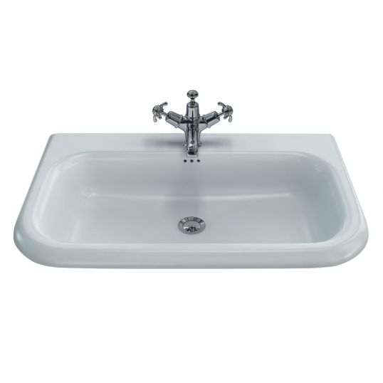 Large Roll Top Basin without Stainless Steel Stand