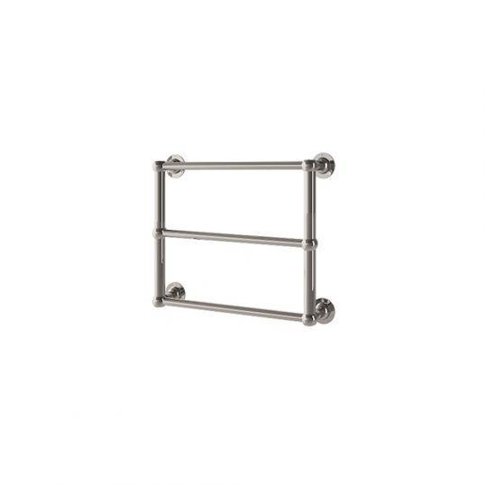 Edwardian Wall Mounted Heated Towel Rail 480x480mm