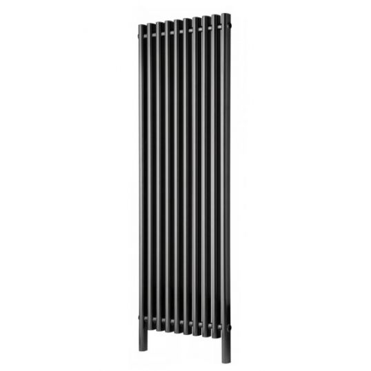 Amore Bathroom Radiator 1500x480mm Black Pearl Anthracite
