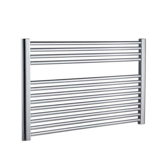 Premier XL Flat Horizontal Heated Towel Rail 600x1000mm Stainless Steel