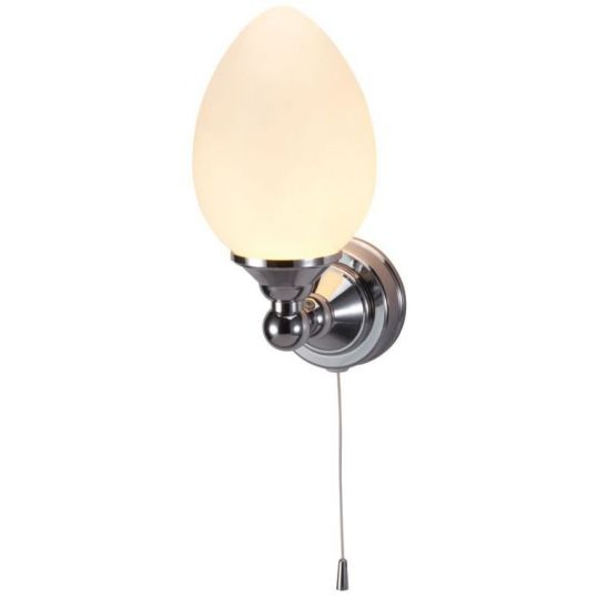 Edwardian Single elliptical light