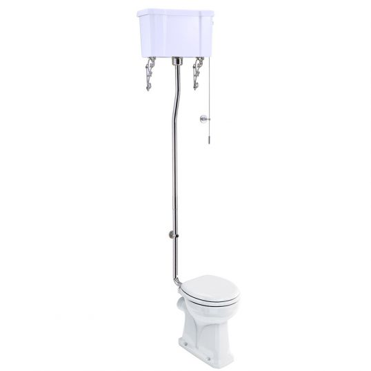 Burlington High Level Toilet With Cistern Now At Soakology