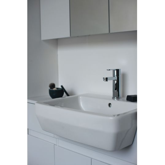 Cube Semi Recessed basin 55cm