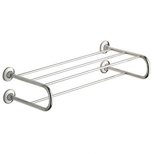 Ascot Hotel Double Towel Rack