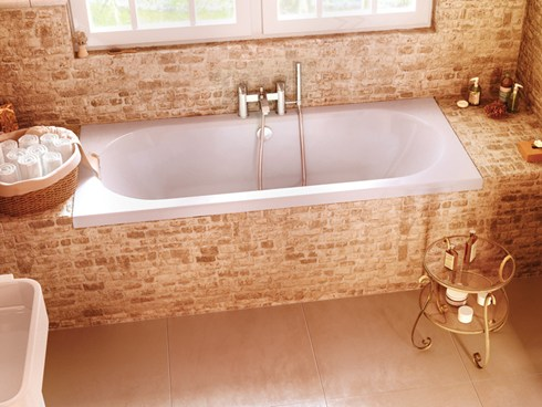Cleargreen Verde Double Ended Bath  1700x750mm