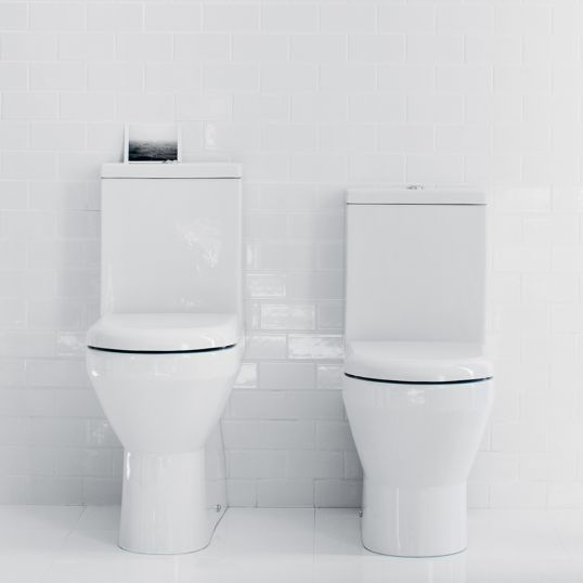 Tall Comfort  Close Coupled WC with Standard Cistern Lid