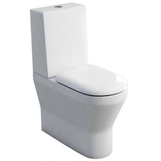 Tall Comfort  Close Coupled WC with One Piece Cistern