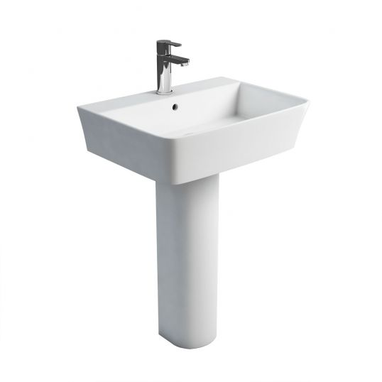 Fine Basin and Round Pedestal