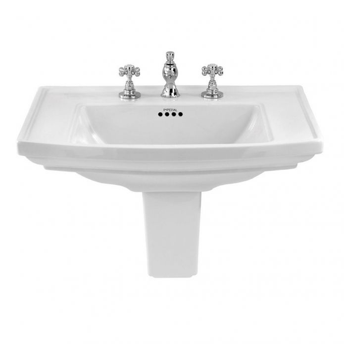 Imperial Radcliffe Large Basin 685mm White Soakology