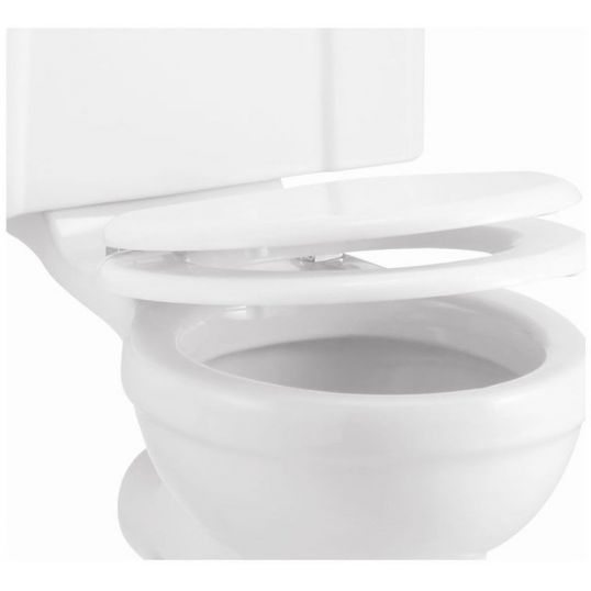Gloss White Carbamide Soft Close Toilet Seat